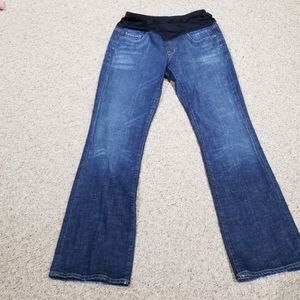 Citizens of  Humanity maternity blue jeans